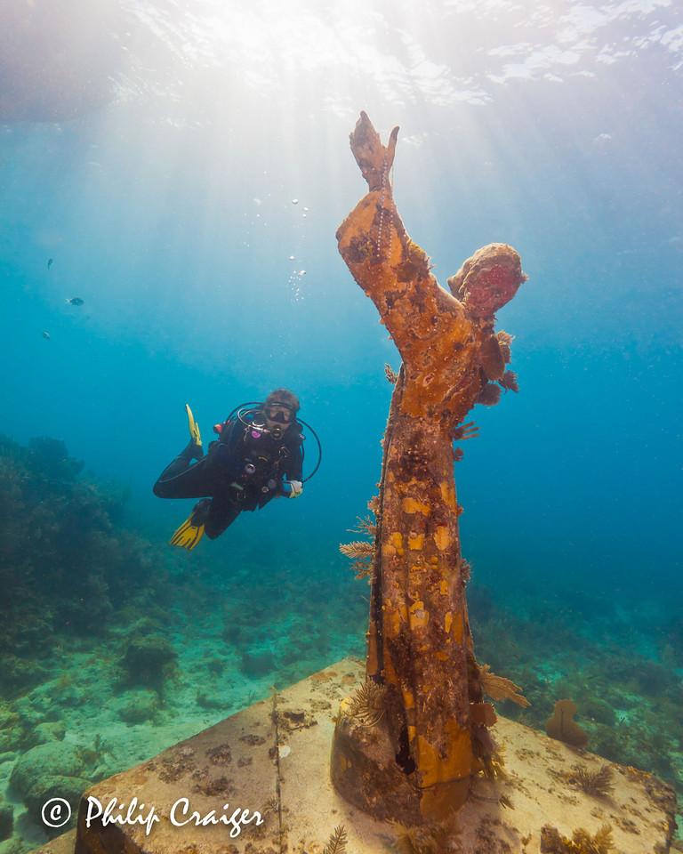 Key Largo Dry Rocks (Christ statue), Key Largo, FL